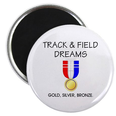 """Track & Field Dreams 2.25"""" Magnet (100 pack)"""