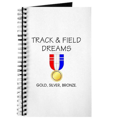 TOP Track & Field Dreams Journal