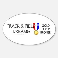 Track & Field Dreams Decal