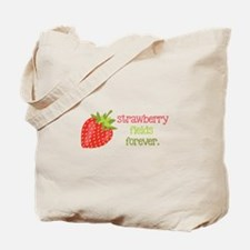 Strawberry Fields Forever Tote Bag