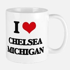 I love Chelsea Michigan Mugs