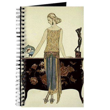 Vintage 1920s Woman Journal