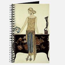 Vintage 1920s Woman Journal