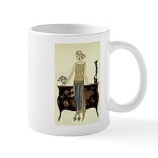 Vintage 1920s Woman Mug