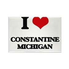 I love Constantine Michigan Magnets