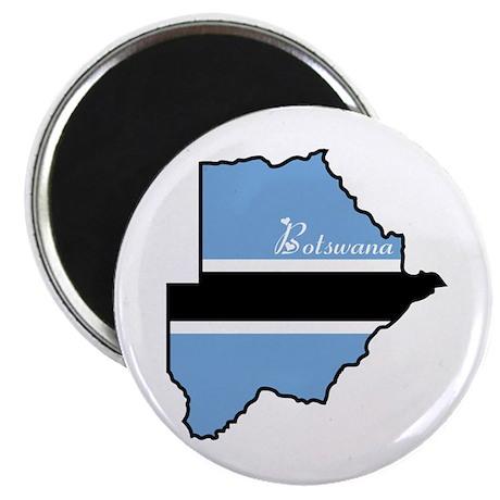 "Cool Botswana 2.25"" Magnet (100 pack)"