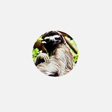 Unique Sloth Mini Button