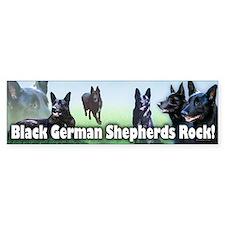 Black Sheps Rock Bumper Car Sticker