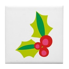 HOLLY ACCENT Tile Coaster
