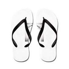 Cute Paranormal ghost hunt Flip Flops
