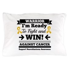 Neuroblastoma Warrior Pillow Case