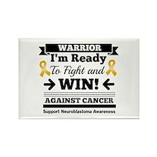 Neuroblastoma Warrior Rectangle Magnet
