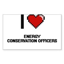I love Energy Conservation Officers Decal