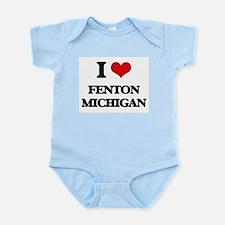 I love Fenton Michigan Body Suit