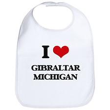 I love Gibraltar Michigan Bib