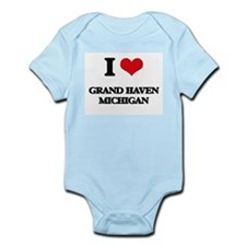 I love Grand Haven Michigan Body Suit