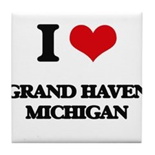 I love Grand Haven Michigan Tile Coaster