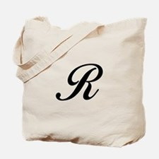 R-Bir black Tote Bag