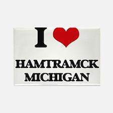 I love Hamtramck Michigan Magnets