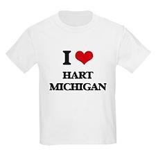 I love Hart Michigan T-Shirt