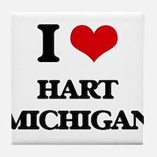 I love Hart Michigan Tile Coaster