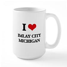I love Imlay City Michigan Mugs