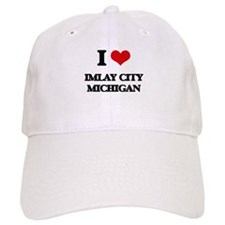 I love Imlay City Michigan Baseball Cap