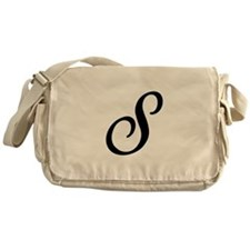 S-Bir black Messenger Bag