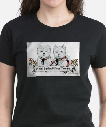 West Highland White Terriers Ash Grey T-Shirt