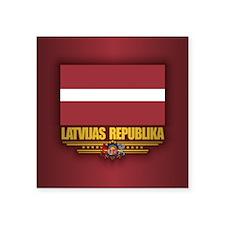 Latvia National Flag Sticker
