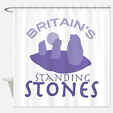 Britains Standing Stones Shower Curtain