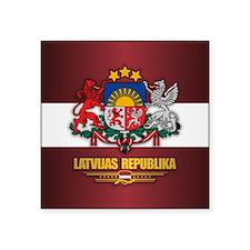 Latvia COA Sticker