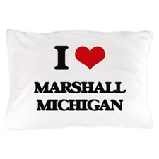 I love Marshall Michigan Pillow Case