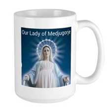 Our Lady of Medjugorje Mugs