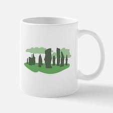 Green Callanish Mugs