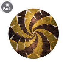 "Dodecagonal Geometric & Square Spiral Pattern 3.5"""