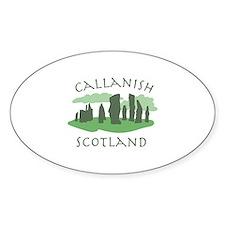 Callanish Scotland Decal