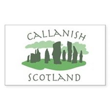 Callanish Scotland Decal
