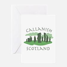 Callanish Scotland Greeting Cards