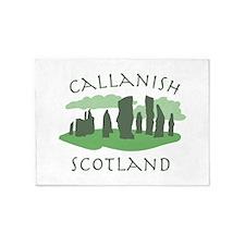 Callanish Scotland 5'x7'Area Rug