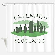 Callanish Scotland Shower Curtain