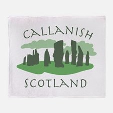 Callanish Scotland Throw Blanket