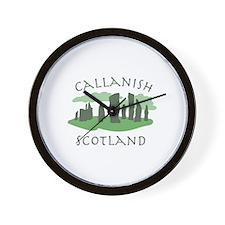 Callanish Scotland Wall Clock