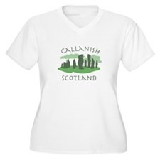 Callanish Scotland Plus Size T-Shirt