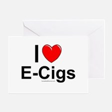 E-Cigs Greeting Card