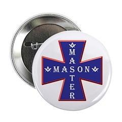 Master Masons Cross Button