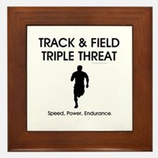 TOP Track and Field Framed Tile