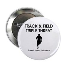 """TOP Track and Field 2.25"""" Button"""