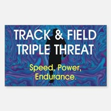TOP Track and Field Decal