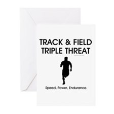 TOP Track and Field Greeting Cards (Pk of 20)